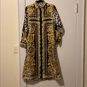 Wild Boroque Tribute Shirt Dress